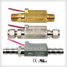 "Gems Sensor & Control FS-380 Series Flow Switch & FS-380B Compact Flow Switch with 1/4"" Tube Fitting"