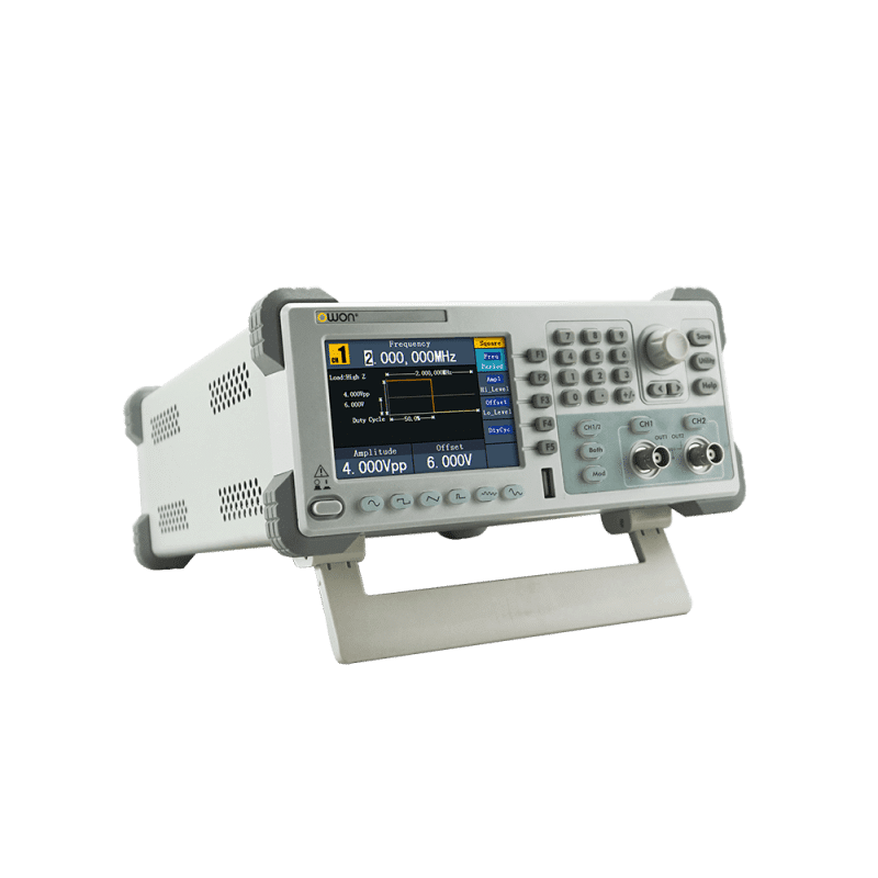 OWON 2-CH Arbitrary Waveform Generator Without Counter Left