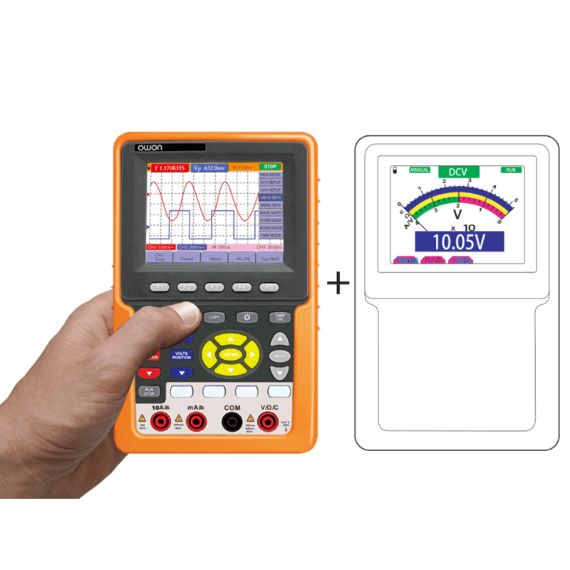OWON HDS-N Series 2-CH Digital Oscilloscope