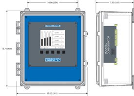 Consolidator PDA2901 mounting dimension