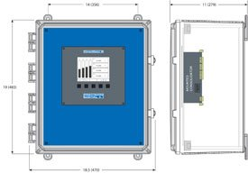 Consolidator PDA2904 mounting dimension