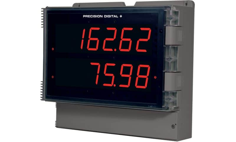 Precision Digital PD2-6262 Helios Dual Analog Input Flow Rate/Totalizer