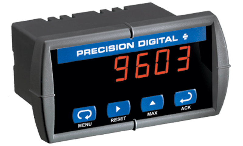 Precision Digital PD603 Sabre P Low-Cost Process Digital Panel Meter