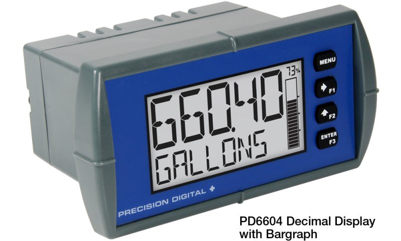 Precision Digital PD6600 Loop Leader Loop-Powered Process Meter