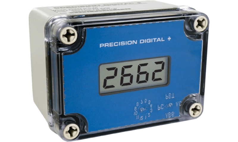 Precision Digital PD662 Survivor NEMA 4X Loop-Powered Process Meter