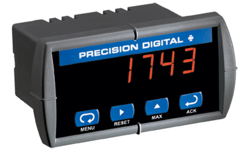 Precision Digital PD743 Sabre T Low-Cost Temperature Digital Panel Meter