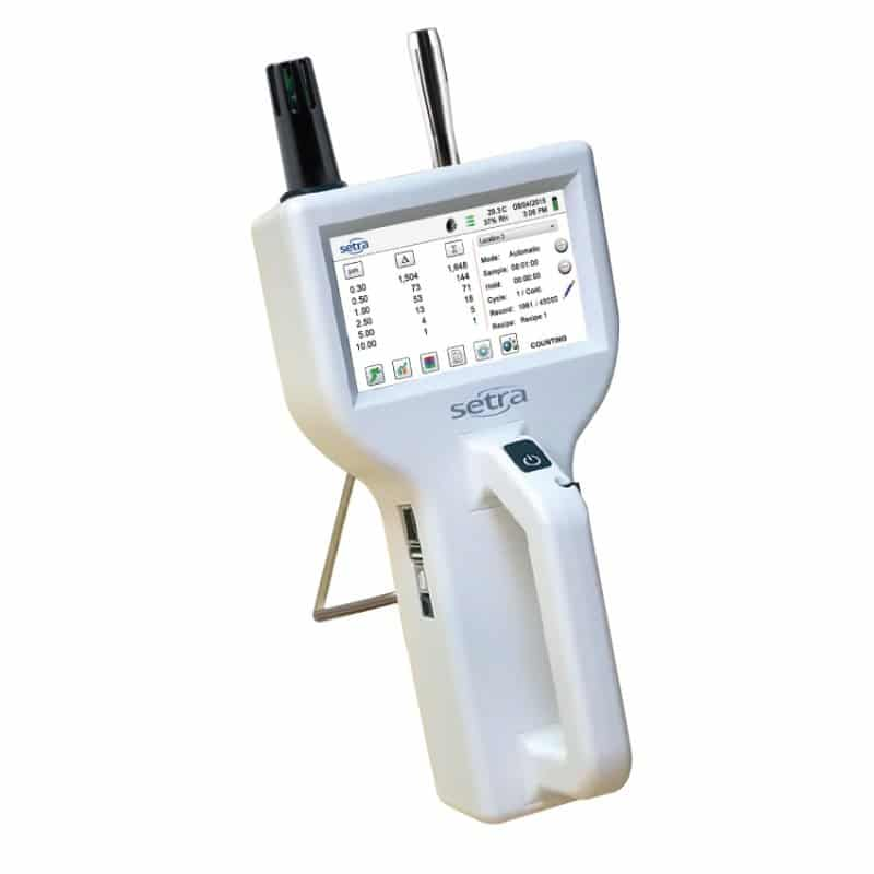 Setra 8000 Series Handheld Airborne Particle Counter