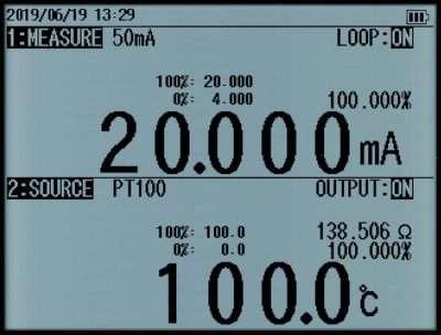 CA500 Dual LIne Display